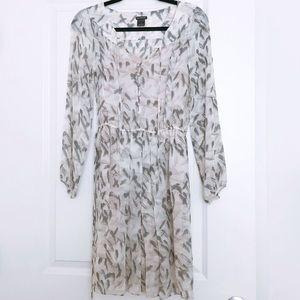 CLUB MONACO 100% Silk Dress- SZ 0
